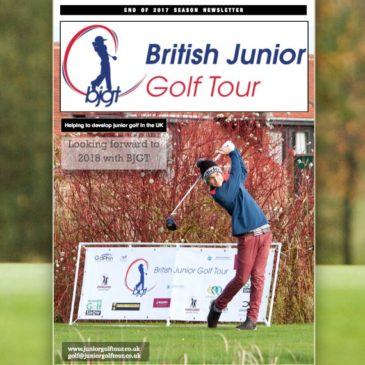 British Junior Golf Tour Newsletter