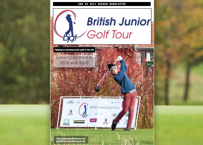 British Junior Golf Tour Newsletter