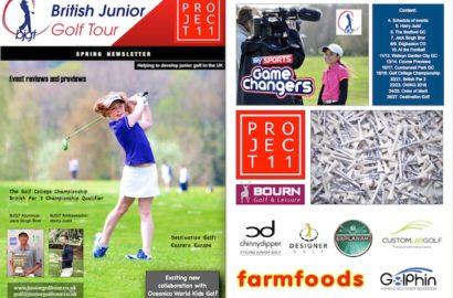 British Junior Golf Tour Spring Newsletter